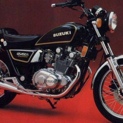 Suzuki GS 450A 82