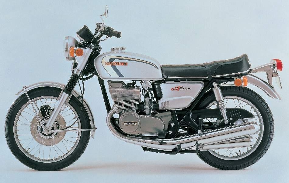 Suzuki GT380 73  1