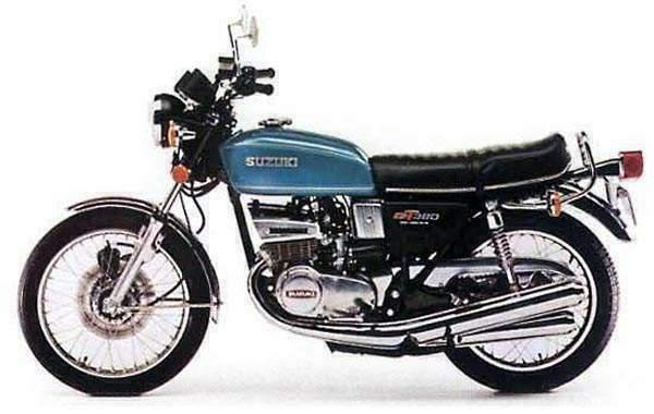 Suzuki GT380 74