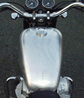 """Réservoir de carburant """"Peanut"""" pour W650"""