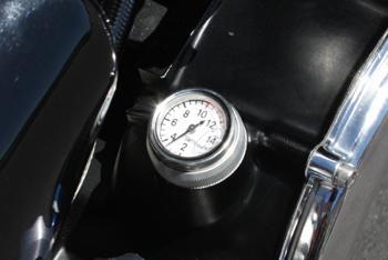 Manomètre de carter d'huile