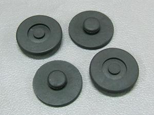 Set de caoutchoucs de support batterie CB 750