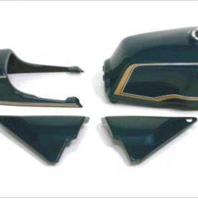 Habillage complet style Z 750 pour Zephyr