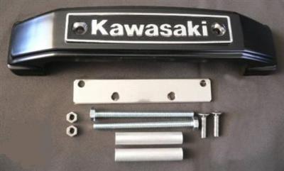"""Emblème de fourche """"Kawasaki"""""""