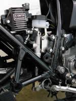 Kit M.C. arrière pour Kawasaki Z1R, Z1000MK2
