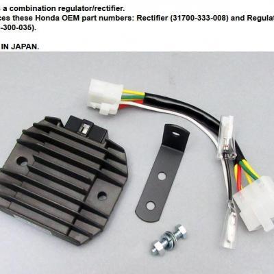 Régulateur CB 750