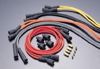 Cables de bougie en silicone/carbone